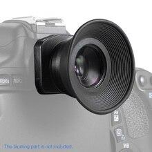 1.51X Vaste Focus Zoeker Oculair Oogschelp Vergrootglas Voor Canon Nikon Sony Pentax Olympus Fujifilm Sigma Minoltaz Dslr Camera