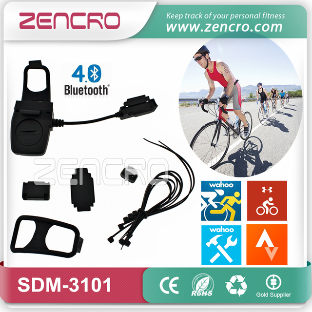 Wireless Bike Computer Bluetooth Bicycle Speed Cadence Sensor for Wahoo Fitness MapMyRide