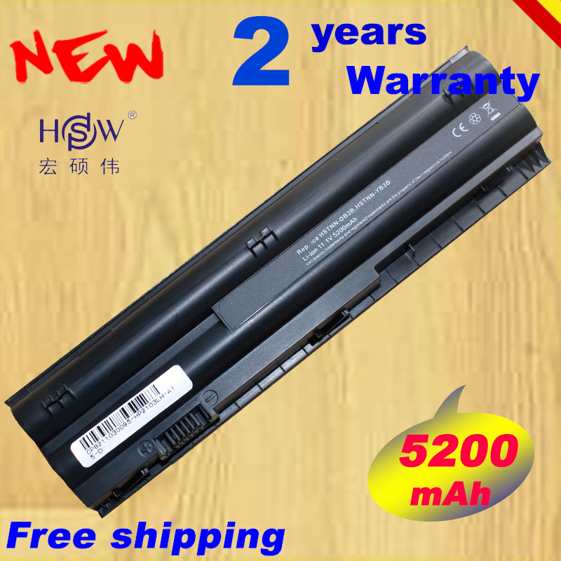HSW Battery For HP Mini 210-3000 HSTNN-DB3B HSTNN-LB3B HSTNN-YB3A HSTNN-YB3B 646755-001 646757 For HP Pavilion Dm1-4000 HK04