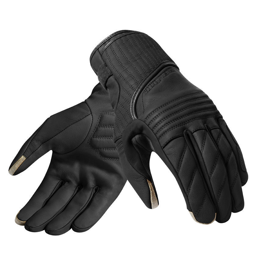 2019 Revit Vintage Motorcycle Gloves Leather Locomotive Motorbike Warm Retro Gloves Men Harley Full Finger Glove