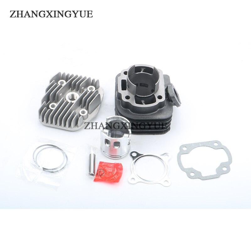 цена на 47mm/10mm 70cc Big Bore Cylinder Barrel Kit & Head for MBK Forte Flipper Cat Fizz Ovetto Eu1-Eu2