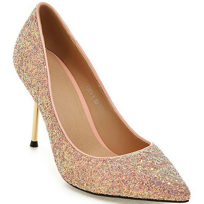 Popular Pink Glitter Heels-Buy Cheap Pink Glitter Heels lots from