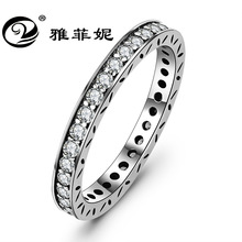 The new 2018 cross-border deserve to act the role of 925 sterling silver crystal ring ring Amazon's valentine's day gift bocai silver makeup india nepal bali silver acts the role of by hand rainbow blue moon stone ring