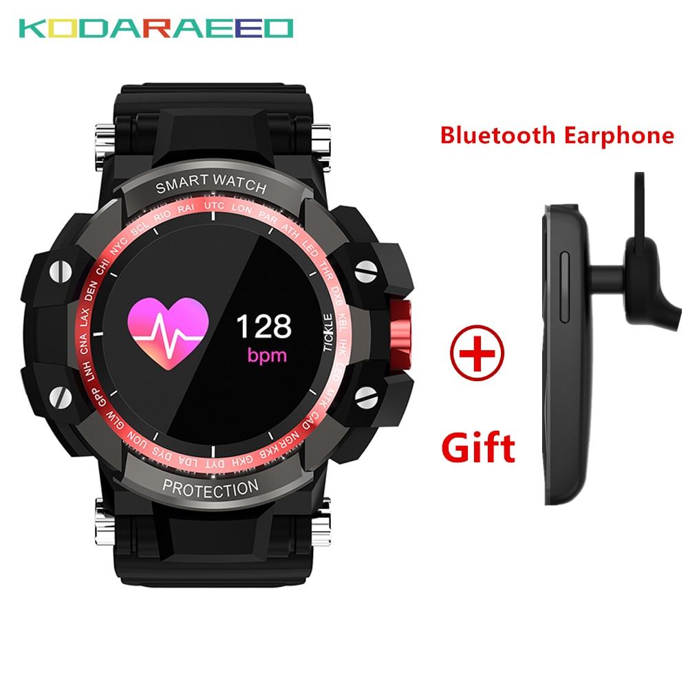 купить GW68 Bluetooth Smart Watch Blood Pressure Heart Rate tracker Monitor Outdoor Smart Bracelet Waterproof WrisWatch For IOS Android недорого