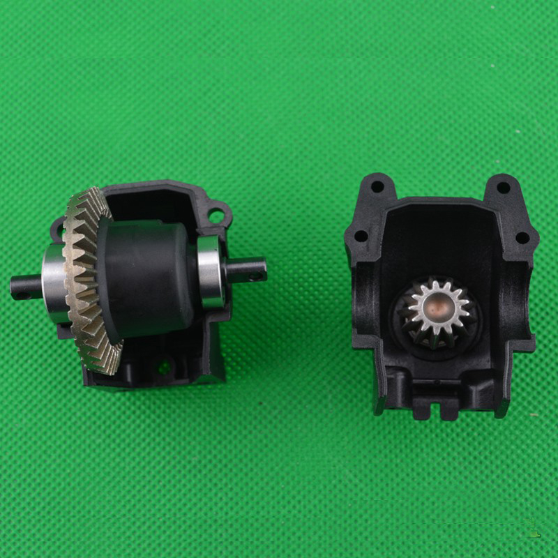 1PC 1/10 Remo Truck Front Rear Gearbox Car Axle Differential Kit with Metal Gear for 1:10 Slash727 RC Cars Modified DIY Parts jd 90 rear middle metal axle with differential lock