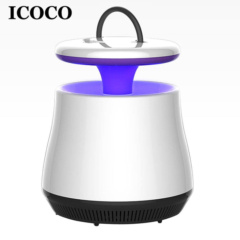 ICOCO New LED UV Photocatalyst Mosquito Insect Killer Lamp Electric Indoor Mosquito Bug Zapper Lamp for Kids Hot Sale ...