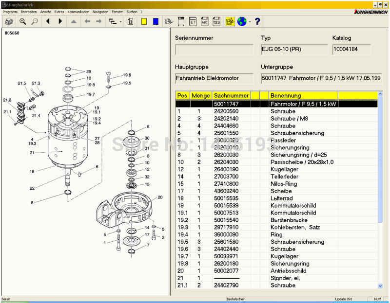 jeti forklift (et) v4 35 spare parts catalog for jungheinrich +expire patch