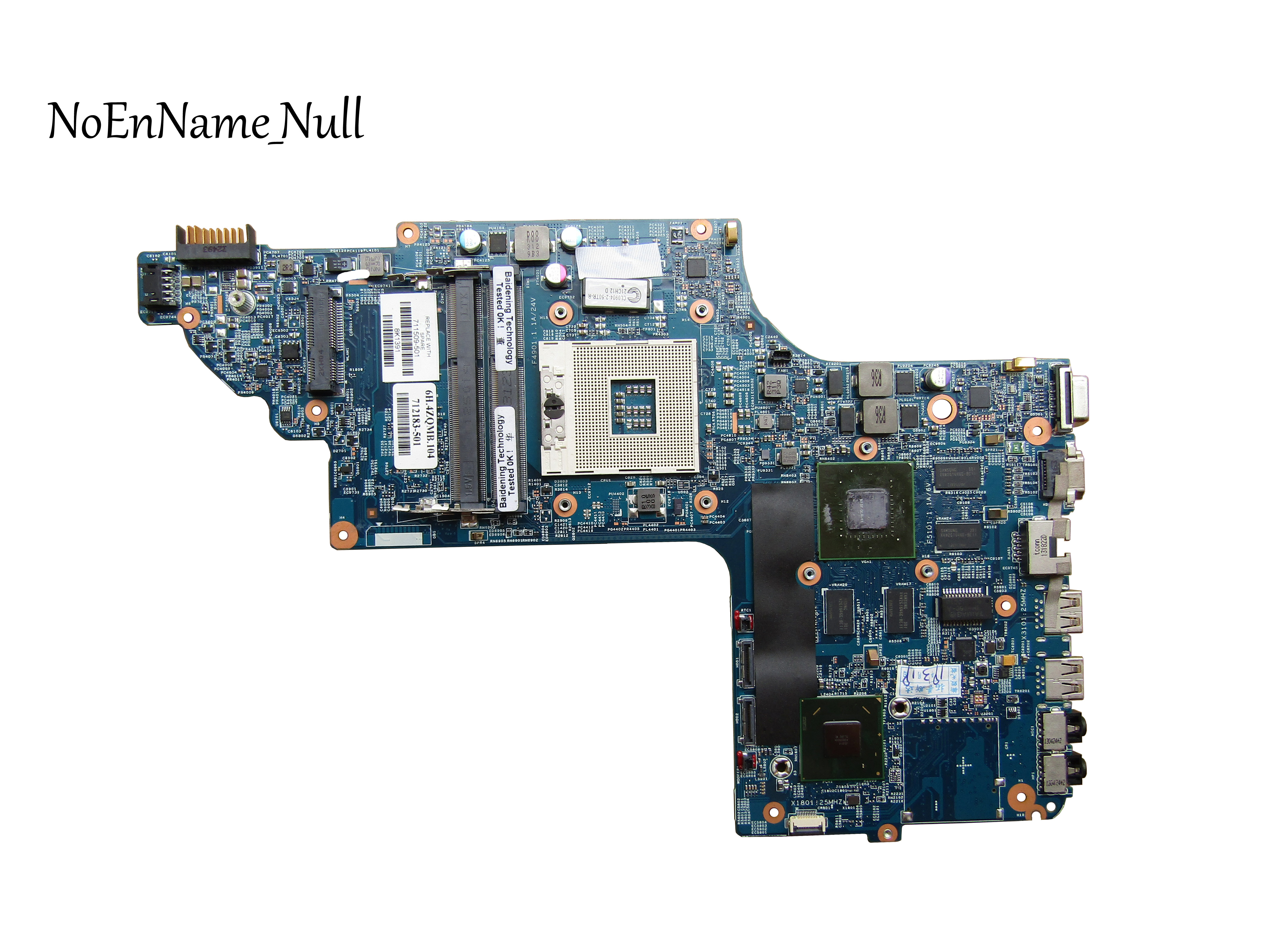 711509-501 For HP ENVY DV7T-7000 NOTEBOOK For HP DV7-7000 Motherboard 711509-001 HM77 635M/2G 48.4ST10.031 7 100% Tested