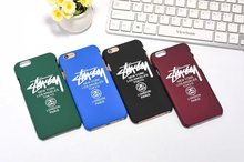New USA Brand Stussy logo Paris London New York PC case for iphone se 5 5s 6 6s plus cover funda coque for iphone cases