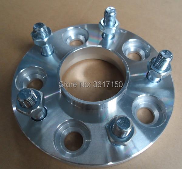 20mm Spoorverbreders/adapters Pcd 5x100 Tot 5x112 Cb 57.1-66.6mm Wiel Studs M12x1.5 Gematigde Kosten