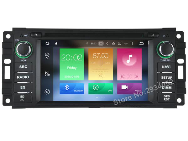 FOR JEEP PATRIOT LIBERTY Android 6 0 Car DVD Player Octa Core 8Core 2G RAM 1080P