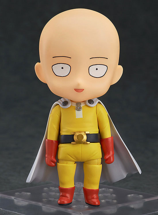 """Cute Free shipping Nendoroid ONE PUNCH-MAN Saitama #575 PVC Action Figure Collectible Model Toy 4"""" 10cm GS029 1"""