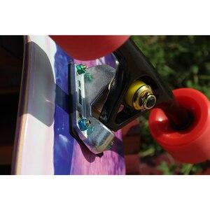 Image 5 - 2PCS 7 인치 7.25 인치 쌍 곰 구경 스타일 Longboard 트럭 스케이트 보드 트럭 전기 스케이트 보드 부품 알루미늄 합금 스케이트