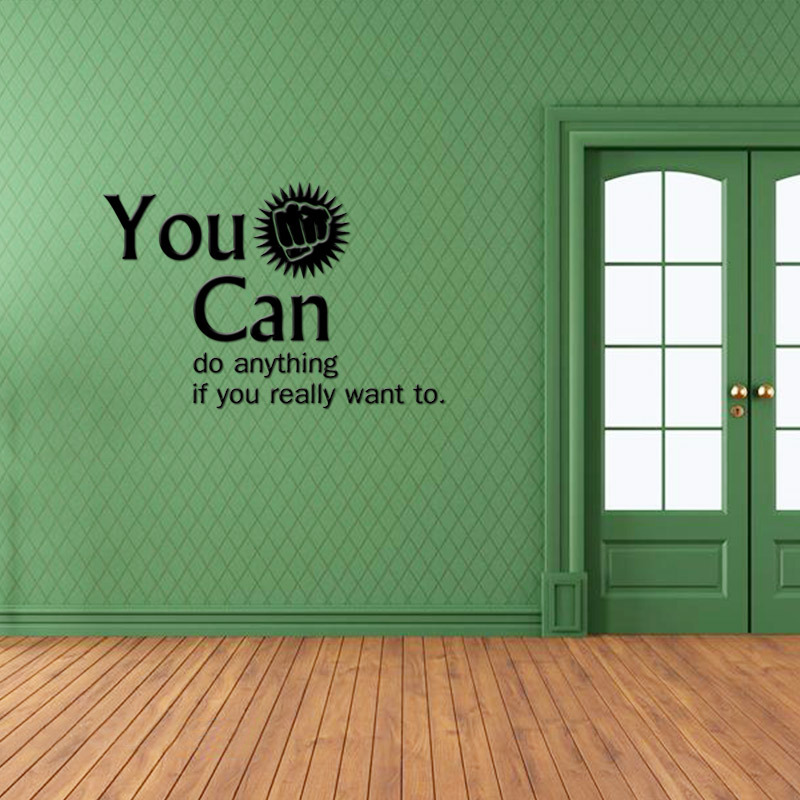 office wall stickers. you can encouragement vinyl wall stickers home decor younger roomu0027s decals office stickerin from u0026 garden on aliexpresscom