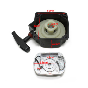 Image 4 - Recoil Pull Start Starter Fit For 33CC 47 43CC 49CC Brushcutter Whipper Trimmer accessories kits with Pawl plate