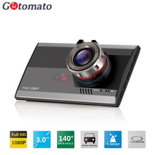 Gotomato Ultra thin 3 0 140 Degree Full HD 1080P Car DVR Camera Video Recorder Dash