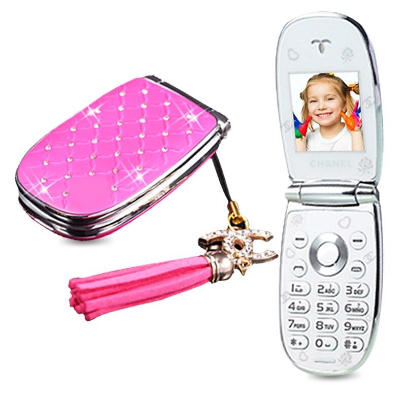 Цена за MAFMA W11 России Флип прекрасный разблокирована алмаз маленькие женщины дети девушки алмаз мило мини мобильный телефон сотовый телефон P451