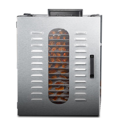 Commercial 16 Layers UCK Fruit Dryer Food Vegetable Dehydrator Soluble Bean Air Dryer Dry Fruit Mini Snack Drying Machine