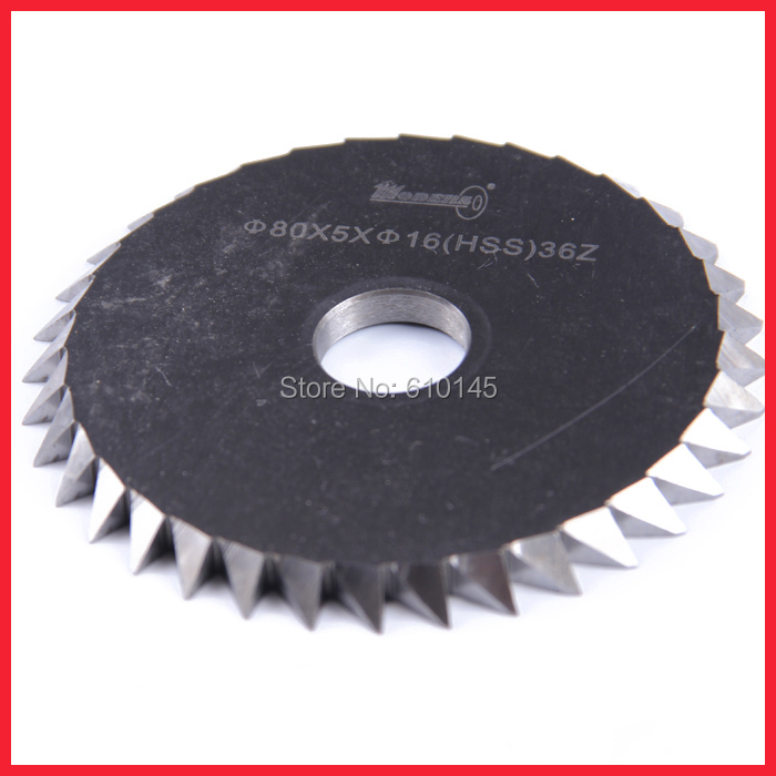 80*5*16mm supper key  saw blade 36Z.double phase key cutter.