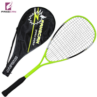 2pc/lot FANGCAN FCSQ 02 Aluminum Carbon Composite Squash Racket 210G for Entry level with String within 3/4 Cover