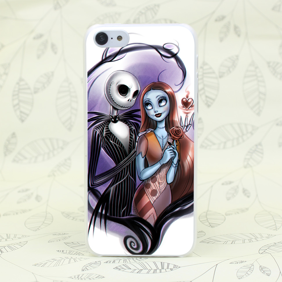 711F nightmare before christmas jack Hard Transparent Case Cover for iPhone 7 7 Plus 4 4s 5 5s 5c SE 6 6s Plus