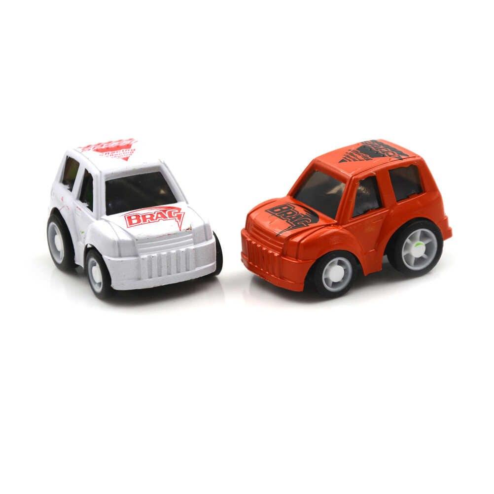 1 個ミニ車ダイキャストモデル赤ちゃんのおもちゃの車男の子誕生日クリスマスのギフトのためのおもちゃケーキ装飾