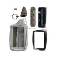M5 Keychain Trinket Caso Para 2 vias LCD alarme de carro de controle remoto Chaveiro Scher khan Magicar 5 6 902/903F MR300 Scher khan|Alarme de assaltante| |  -
