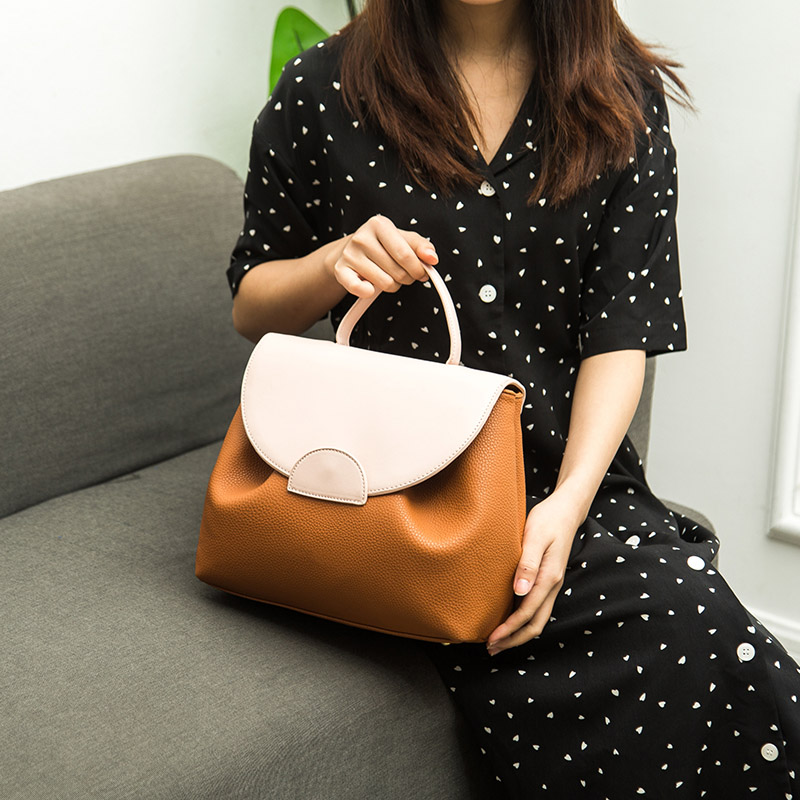 Bolsa de Balde Designer de Luxo Bolsa com Alça de Ombro para Mulheres Bolsas de Couro Fim de Semana Feminino Grande Estilo Francês Bolsa Tote 2020