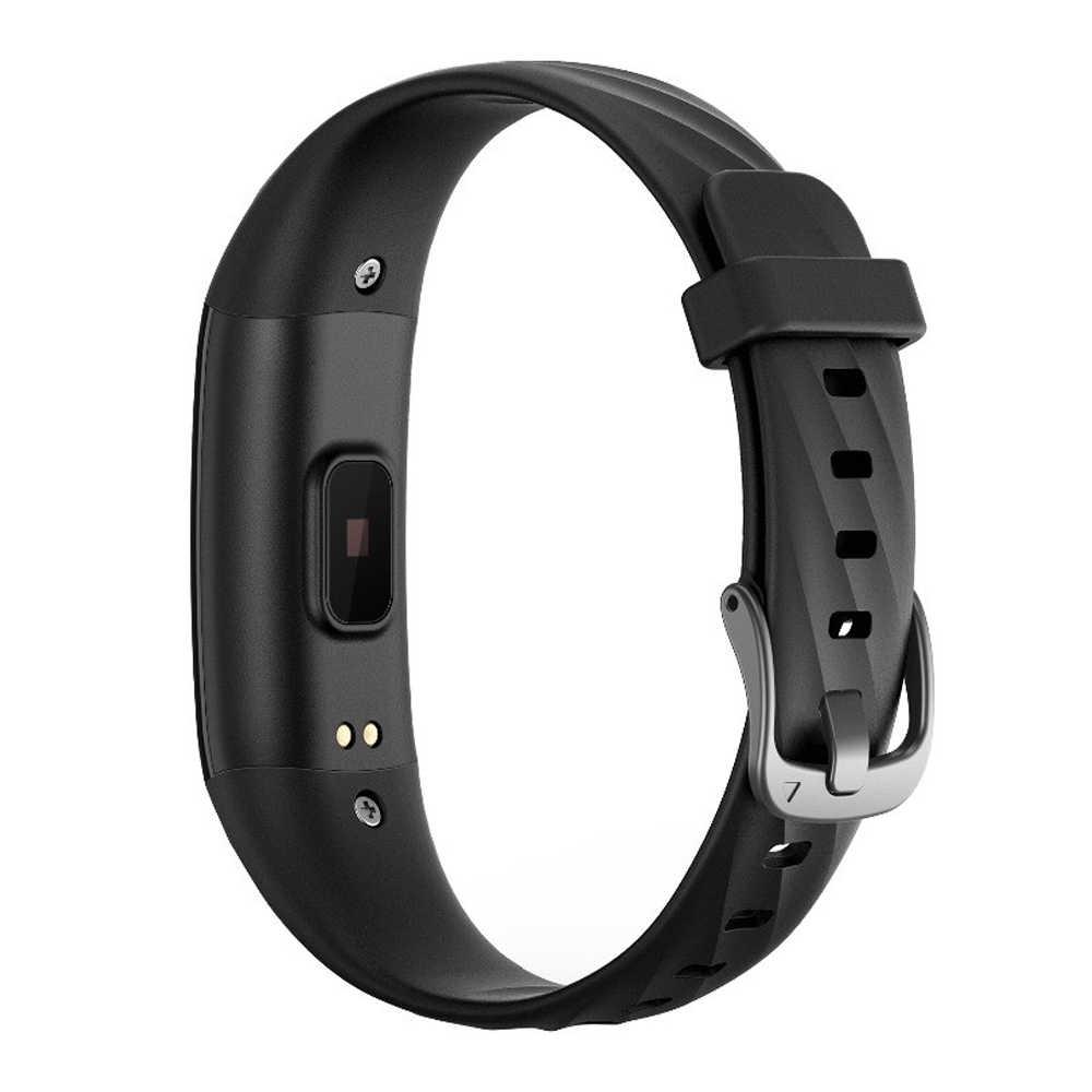 Banda inteligente ligera delgada reloj Frecuencia Cardíaca presión arterial pulsera Fitness a prueba de natación Smartband para IOS/Xiaomi/Honor VS banda xiomi 4