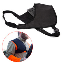 Protective Shooting Pad Canvas Shoulder Recoil Shield Rifle Padding Shockproof Shoot Hunt Accessories BB55 цена