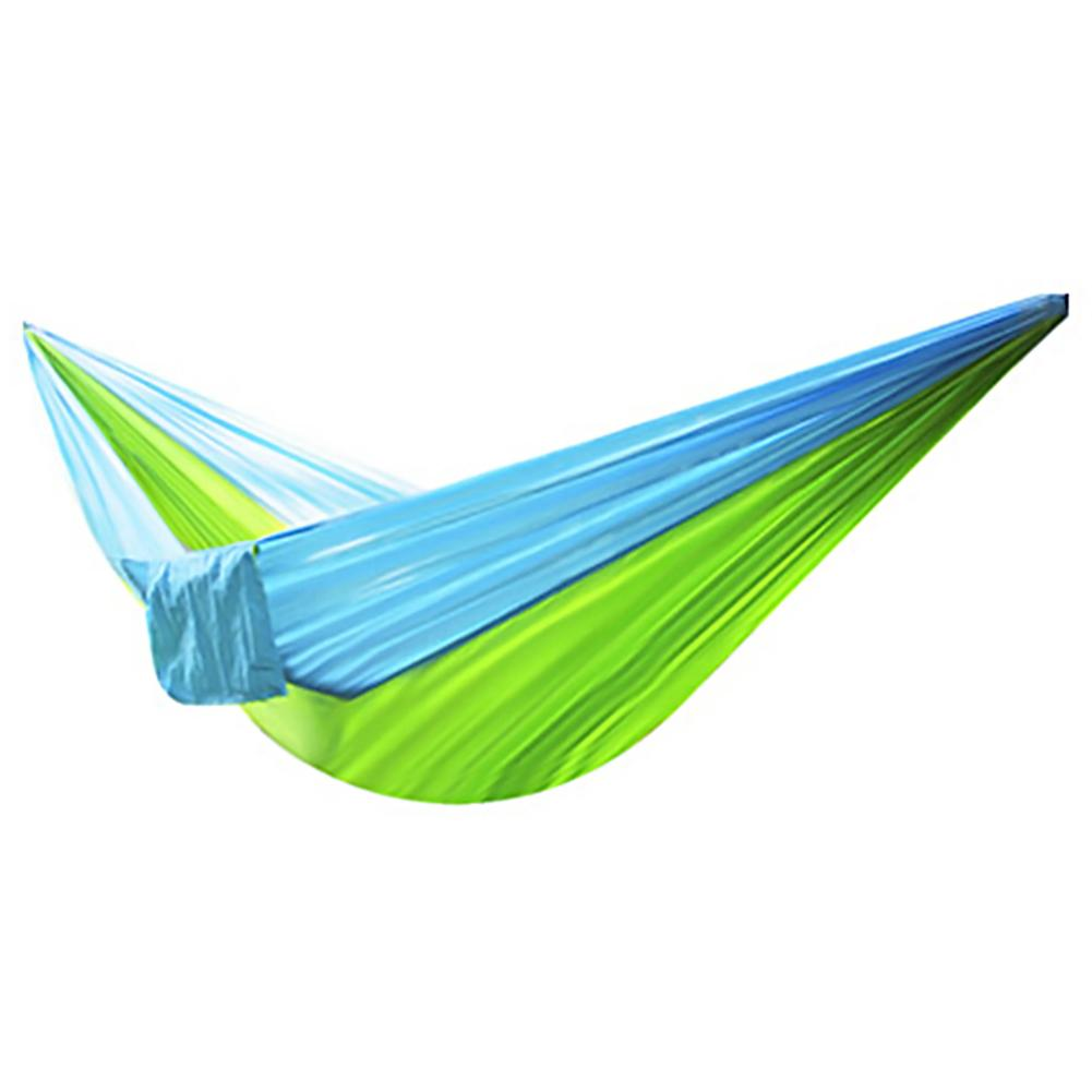 Light Weight Hammock Parachute Cloth Hammock Outdoor Camping Indoor Leisure 210T Nylon Fabric Double C