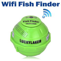 Lucky FF916 WiFi Wireless Fish Finder Russian Sonar Fishfinder iPone iPAD Best deeper Echo Sounder Bite Alarm for Depth Fishing