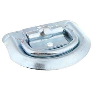 Image 2 - 1 шт. сварное D образное кольцо, зажимные анкеры, высокопрочные металлические D образные кольца со сварочными зажимами для прицепа, грузовика, автофургона, вездехода и т. д.