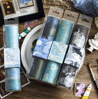 Classic Art Museum Famous Painting Theme High Quality Washi Tape 20cm 5M DIY Journal TN Diary