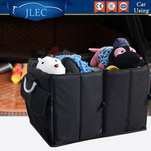 Car Trunk Organizer Toys Food Storage Truck Storage Box Car Trunk Tidy Bag Organizer Storage Box Interior Moulldings Style(China)