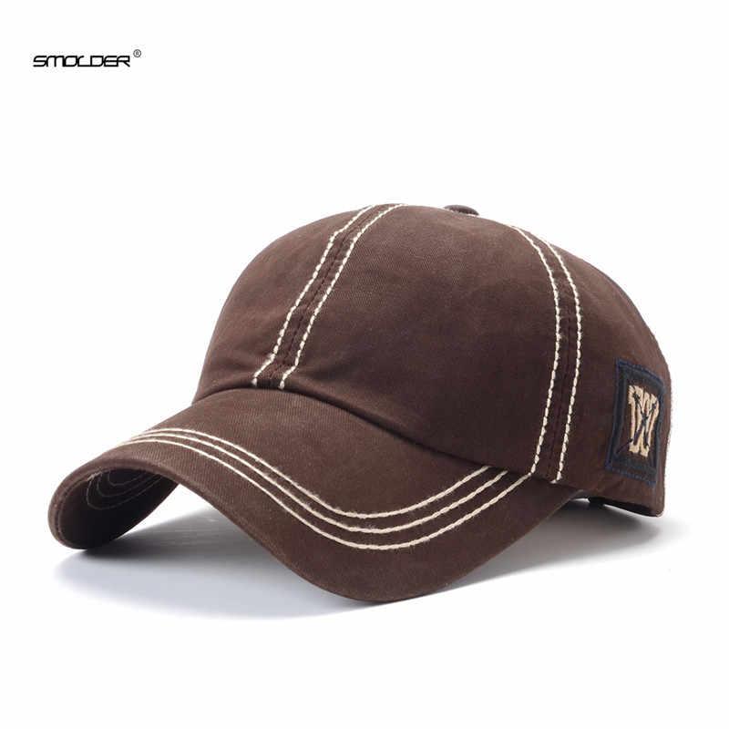 [Smold] 2019 جديد وصول قبعات الرجال رسالة عادية قبعة بيسبول للجنسين المجهزة قبعات ترد لمكانها التطريز الهيب هوب قبعات النساء gorras