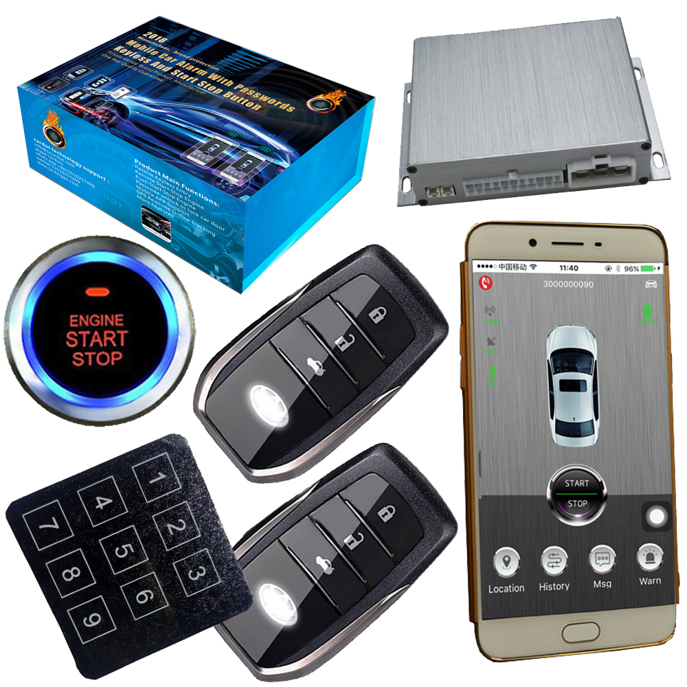 Auto Security Gsm Car Alarm System Gps Online Real Time