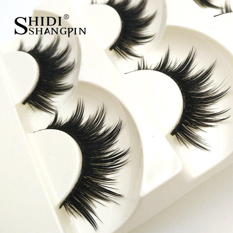 New 5 pairs thick makeup false eyelashes natural soft fake lashes eyelash extension Long Black handmade lady beauty tools #21S seet hardlife 1 0 27 5 21s ty300 40cm 4165021740