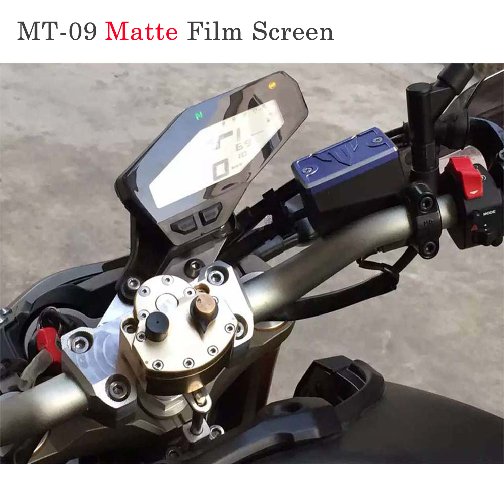 Cluster Scratch Speedometer Film Screen Protector New For Yamaha MT-09 FZ-09 Motorcycle accessories crash bar mt 09