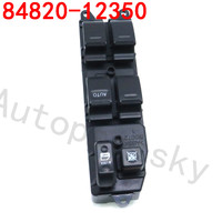 84820 12350 High Quality Front Right Door Power Master Window Switch 7pins For Toyota Corolla AE110 1998 2002