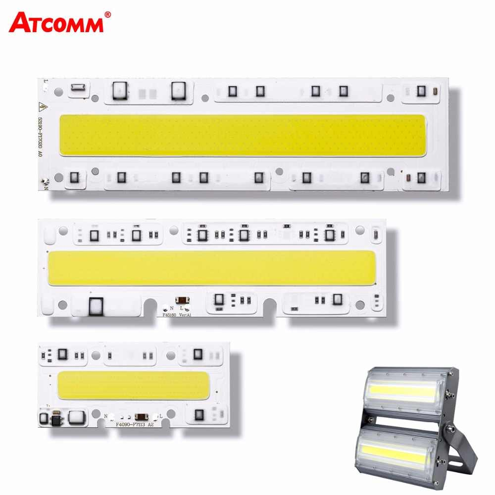 Cob LED Lamp 30W 50W 70W 100W 150W Smart IC High Power Matrix Chip on Board Bulb 110V 220V DIY Flood Light Street Projector