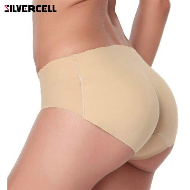 Sexy Women's Padded Seamless Butt Enhancer Panties