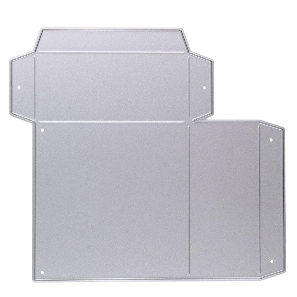 Caja de regalo rectangular de metal morir Recortes de papel ...