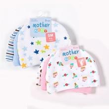 Мама гнездо 3 шт./лот детские шапки розовый/синий звезда печатных детские шапки и кепки для Аксессуары для новорожденных