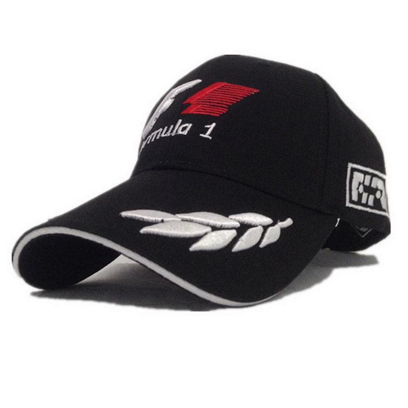 Outdoor Word Championship Formula 1 Embroidery Baseball Cap Hat Racing F1 sunhat