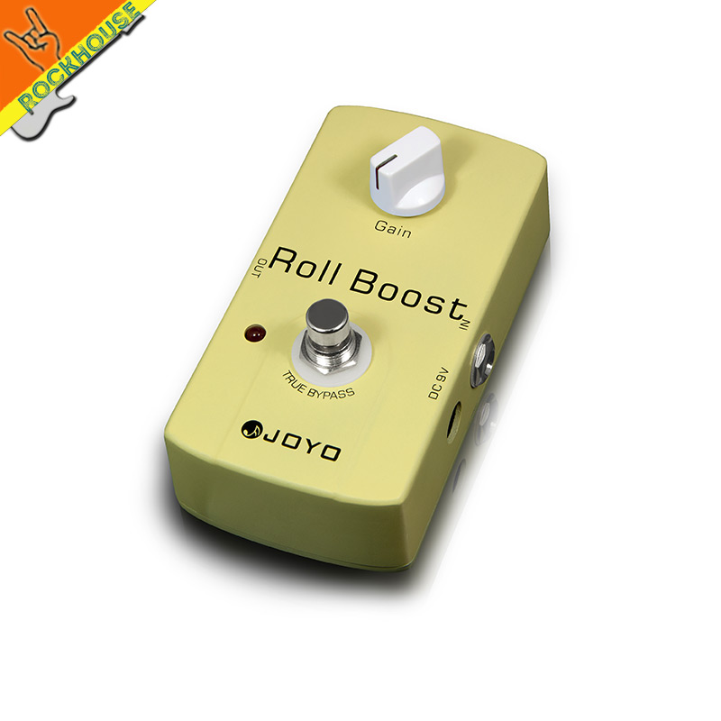 JOYO Clean Boost Guitar Effects Pedal Guitarra Booster Stompbox Lighten your tone True Bypass Free Shipping mooer ensemble queen bass chorus effect pedal mini guitar effects true bypass with free connector and footswitch topper