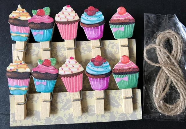 Decorazioni In Legno Per Bambini : Pz gelato mollette clip foto clip di legno clip del
