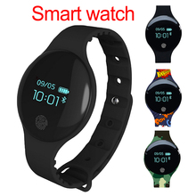 цена на Fashion Round Dial Smart Bracelet Smart Watch Sport Pedometer Fitness Tracker Wristband Band Wearable Devices For iOS Android