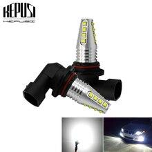 2x 9005 HB3 9006 HB4 светодиодный противотуманный фонарь лампа для автомобиля двигатель грузовик Canbus безошибочный СВЕТОДИОДНЫЙ Фонарь фары дальнего света DRL лампа 12 В 24 в белый