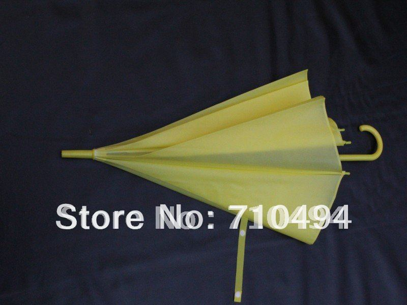 free dhl shipping yellow eva rain umbrella promotion advertising umbrella auto open logo. Black Bedroom Furniture Sets. Home Design Ideas
